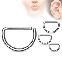 Piercing do nosu/ucha - 1,2 x 8 mm