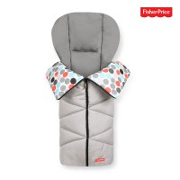 Fisher-Price Cosy Toe 2019 fusak gumball grey