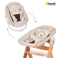 Hauck Alpha bouncer 2019 hearts beige