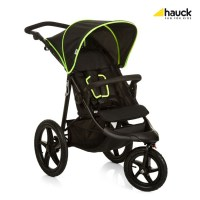 Hauck Runner 2019 kočárek black/neon yellow