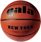 Míč basket NEW YORK BB7021S  - hnědý