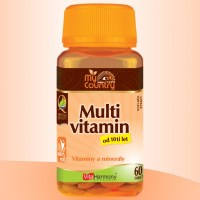 My Country - Multivitamin od 10 let, 60 tbl.