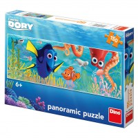 DINO Dory na cestách 150 panoramatic puzzle