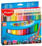 MAPED Pastelky trojboké Color'Peps 48ks